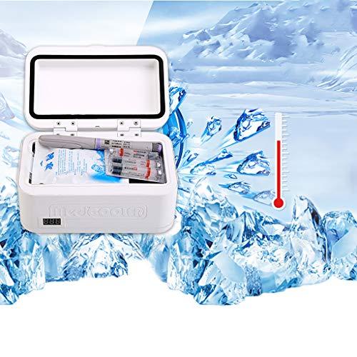 XN Mini nevera Refrigerador de medicamentos y refrigerador de insulina para automóvil,...