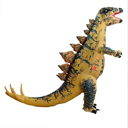 Kostüm Dinosaurier Verkleiden - HXYL Halloween Verkleiden Sich Dinosaurier Kostüm, Aufblasbare Kleidung Aufblasbare Kleidung Aufblasbare Stegosaurus, Halloween, Weihnachten, Maskerade, Lustig Streich