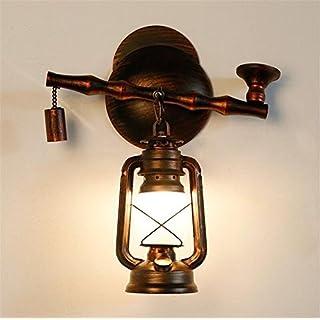 Industrial Vintage Atcoe Wandleuchte Tabakpfeife Bügeleisen Kerosin Lampe  Für Wohnzimmer Schlafzimmer Flur Antiker Wandhalterung An Der