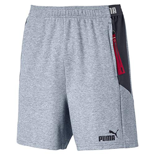 PUMA Herren ftblNXT Casuals Shorts, Grey Dawn/Ebony, M