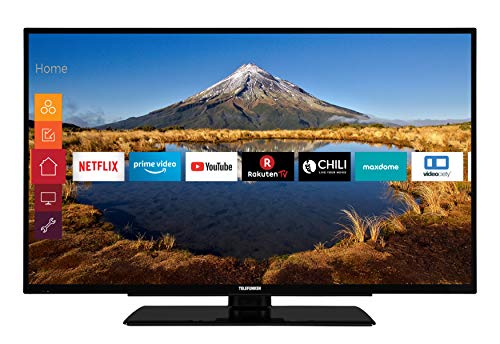 Telefunken XF40G511 102 cm (40 Zoll) Fernseher (Full HD, Triple Tuner, Smart TV, Prime Video) -