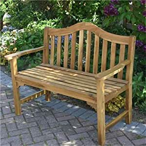 BillyOh Signature Preston 2 Seater Wooden Garden Bench