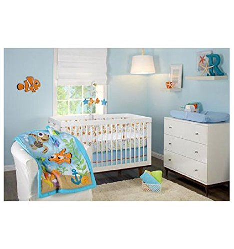 Disney Finding Nemo Day At the Sea 3 Piece Crib Bedding Set by Disney