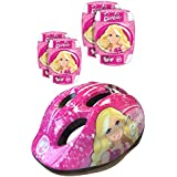 Stamp - Casco con codillera y rodillera, diseño Barbie (K813507)