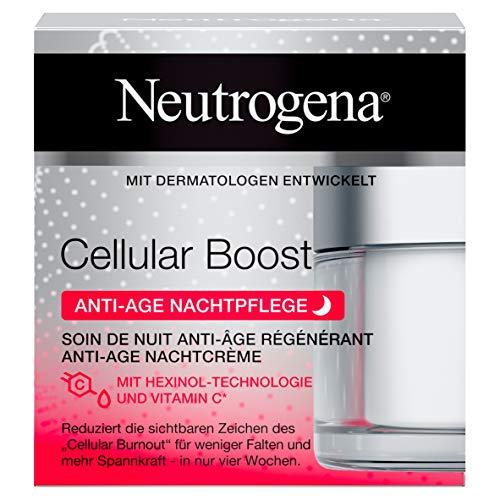 Neutrogena Cellular Boost Crema De Noche Antiedad