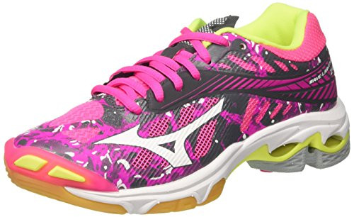 Mizuno Wave Lightning Z4 WOS, Scarpe da Pallavolo Donna, Rosa (Pinkglowhiteirongate), 38 EU