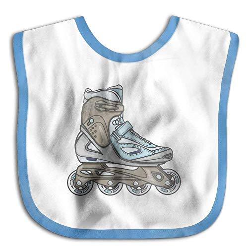 Roller-skating Shoes Funny Baby Bibs Burp Infant Drool Toddler Bibs