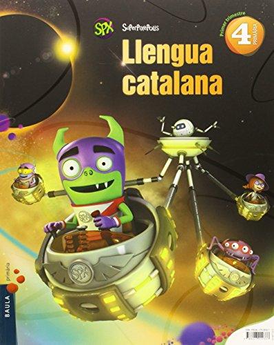 Portada del libro Llengua catalana 4t Primària Superpixèpolis LA (Projecte Superpixèpolis) - 9788447929337