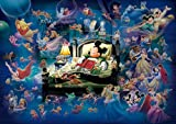 Tenyo Disney Mickey's Dream Fantasy Glow in The Dark Jigsaw Puzzle (500 Piece)