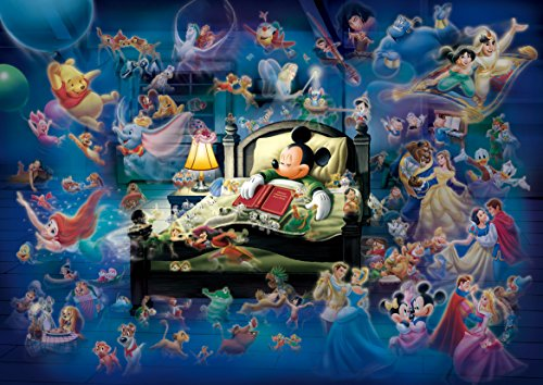 s Dream Fantasy Glow in the Dark Jigsaw Puzzle (500 Piece) (Dark Princess Disney)