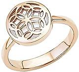 s.Oliver Damen-Ring Perlmutt 925 Silber rhodiniert Gr. 52 (16.6) - 524148