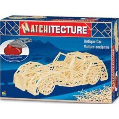 Matchitecture Streichholz-Puzzle 3D Oldtimer