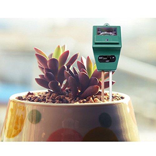 Galleria fotografica Plant Soil tester, kit 3-in-1Soil tester termometro misuratore PH Meter acidità ideale per giardino, fattoria, prato, interno e esterno