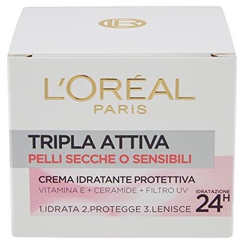 L'Oréal Paris Tripla Attiva Crema Idratante Protettiva