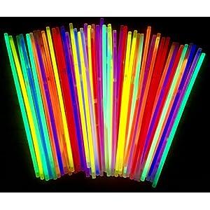 molinoRC | 50 Knicklichter | Leuchtstäbe | Armreifen | Glowstick | Partylichter | Neon rot gelb grün pink orange blau | Premium Lichter, leuchten ewig |  |  | ✅ |  | | Expressversand