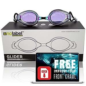 Lunettes de natation pour piscine ou mer lunettes de for Lunettes piscine miroir