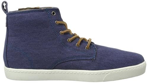 Dickies  IRON, Baskets pour homme Bleu - Blau (navy/cognac 1)