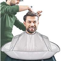 JFAN Mantello Da Barbiere Uomo Ombrello Da Taglio Per Capelli Pieghevole Grembiule Da Parrucchiere Hair Catcher Barba Da…