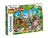 Clementoni- Madagascar Supercolor Puzzle, 104 Pezzi, 27941