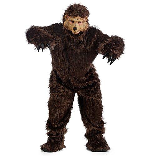 Limit Kostüm Bär L (MA848) (Braun Bär Für Erwachsene Kostüme)