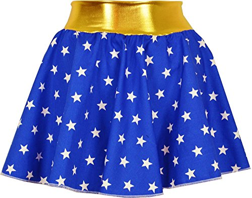 Wonder Women Stars Skirt for Adults - Sizes XS to XL