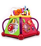 Best Learning Toys For 1 Year Olds - GoAppuGo Multifunctional Learning Play Center with Drum, phone Review