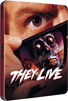 They Live - Sie Leben Exclusive Limited Edition Steelbook (Import MIT dt. Ton) [Blu-ray]
