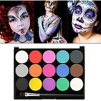 Maquillaje Maquillaje, maquillaje Ni�os 15�diferentes colores profesional pal� Ideal para ni�os, fiestas, Body Painting de Halloween Make Up