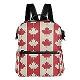 Alaza Kanada Maple Leaf Casual Rucksack Leichte Reise Daypack Student Schultasche