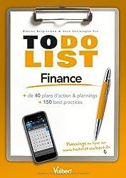 Finance - + de 40 plans d'action & plannings et 150 best practices
