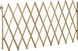 IB-Style - Absperrgitter für Hunde 'LIN XXL' - 62 - 230 cm NATUR - Buche massiv | Ziehharmonika Türgitter Zaun Absperrung Hindernis Barriere