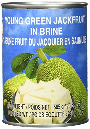 Cock Jackfruit in Salzwasser, 12er Pack (12 x 565 g Packung) -