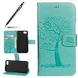 Uposao Kompatibel mit iPhone 7/iPhone 8 4.7' Handytasche Handy Hüllen Flip Case Cover Schutzhülle...