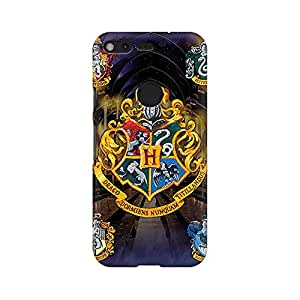 Mobicture Harry Potter Premium Printed High Quality Polycarbonate Hard Back Case Cover for Google Pixel With Edge to Edge Printing