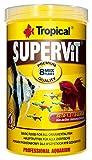 Tropical Supervit Premium Hauptfutter, Flockenfutter für alle Zierfische, 1er Pack (1 x 1 l)