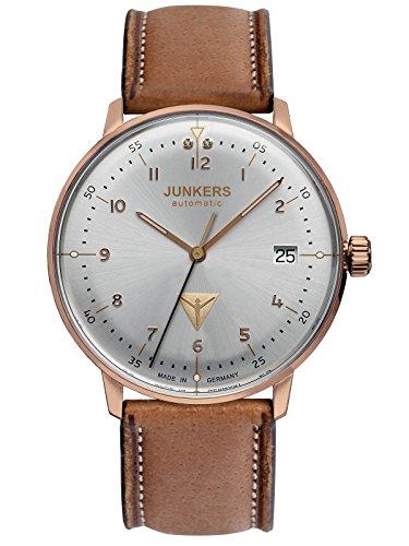 Junkers-Uhren Gehäuse aus glänzendem Edelstahl, Ø ca. 35 mm