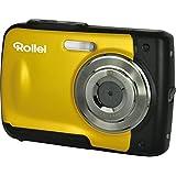 Rollei Sportsline 60 - Appareil photo numérique - Fonction Video HD - Etanche jusqu'à 3 mètres - Jaune
