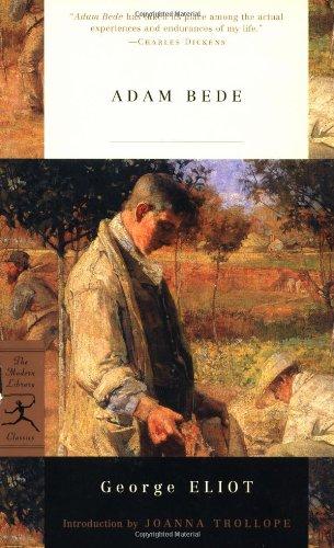 Adam Bede (Modern Library) por George Eliot