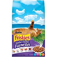 Purina Friskies Surf And Turf Cat Food, 3.15 Pounds