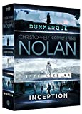 Coffret nolan 3 films : inception ; interstellar ; dunkerque