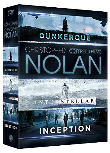 Christopher Nolan - Coffret 3 films : Inception + Interstellar + Dunkerque