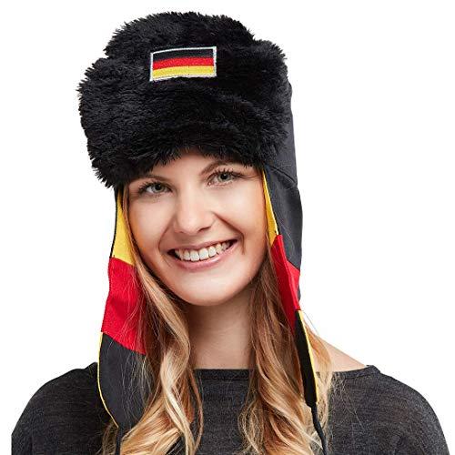 and I Sommertaugliche Fan- und Partymütze. Die stylische Mütze für Sportevents, Aprés Ski und Partys - aus hochwertiger Baumwolle ()