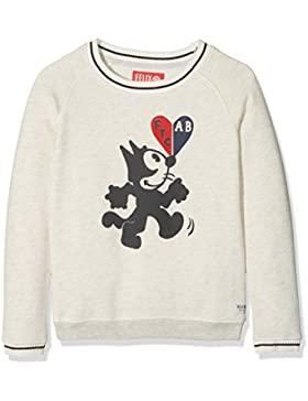 Scotch & Soda Mädchen Sweatshirt Felix Ams Blauw Collab. Sweat
