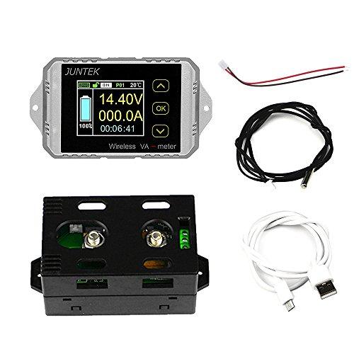 Besttse Gleichstrom 400V 300A Drahtloser Bidirektionaler Voltmeter Amperemeter Kapazität Voltmeter