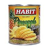 Habit Pineapple Slices, 850g