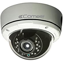 Comelit IPCAM168A - Mini cámara domo ip full-hd, 2.8-12mm, ir 15 m, ip66