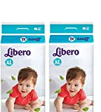 #3: Libero Extra Large Open Diapers (2 Packs, 36 count Per Packs)