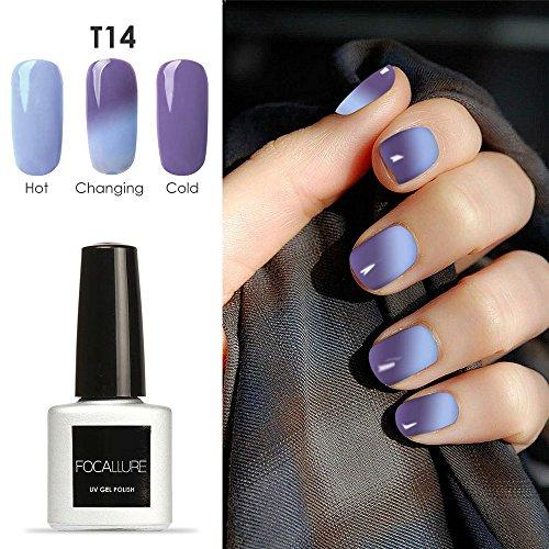 Focallure Temperature Chameleon UV Nail Gel Colour Changing Nail Polish [BTFN-B14]