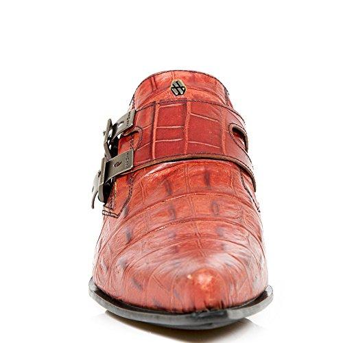 M.7934-S20 KROKO RED, DALLAS BLACK TACON DALLAS ACERO Red