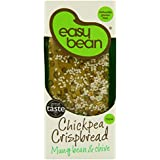Easy Bean Chickpea Crispbread Mung Bean and Chive 110 g (Pack of 4)